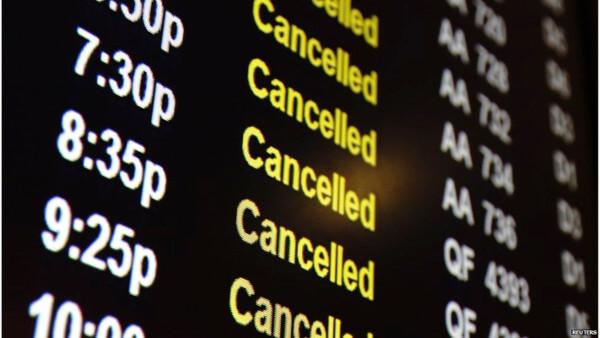 devolución vuelo cancelado